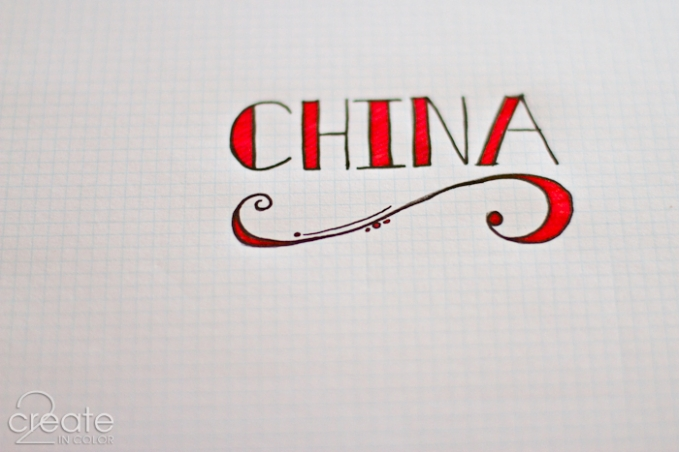 China Word Art » 2Create in Color