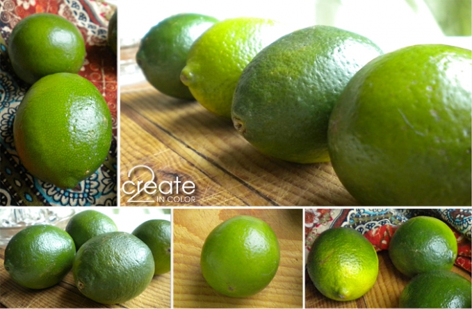 Limes, limes, delicious and versatile limes!