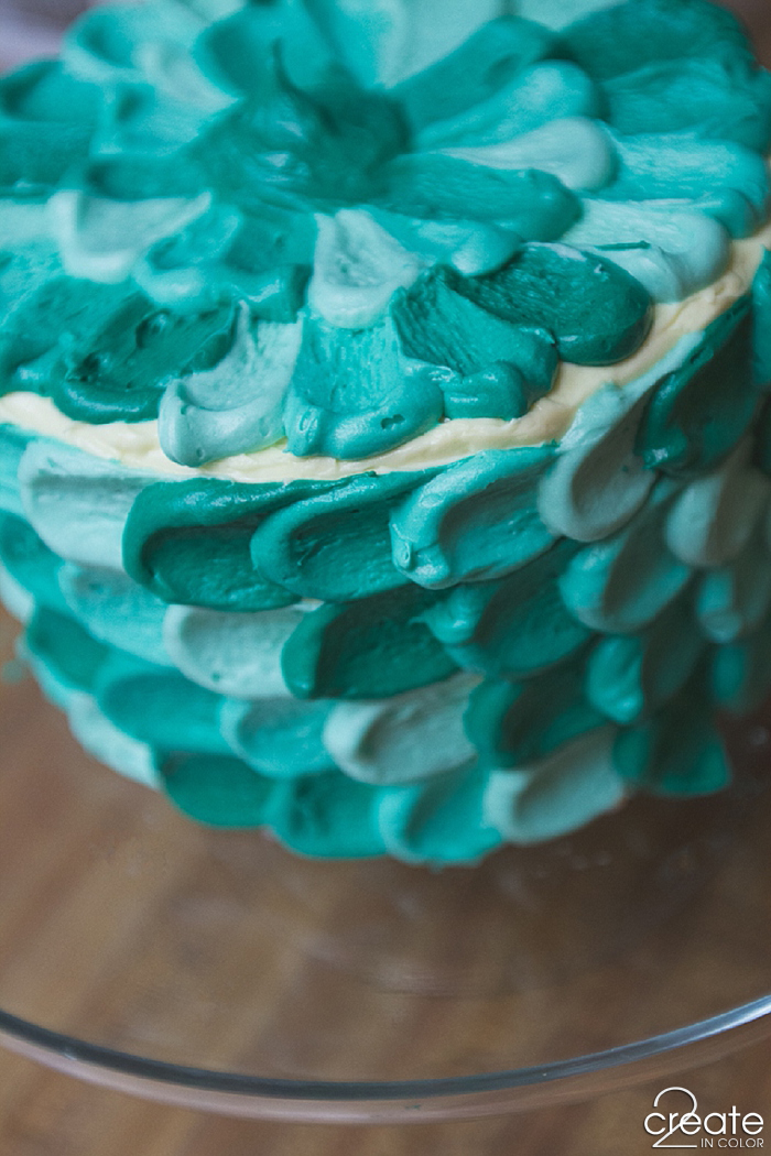 Teal Petal Cake 187 2create In Color