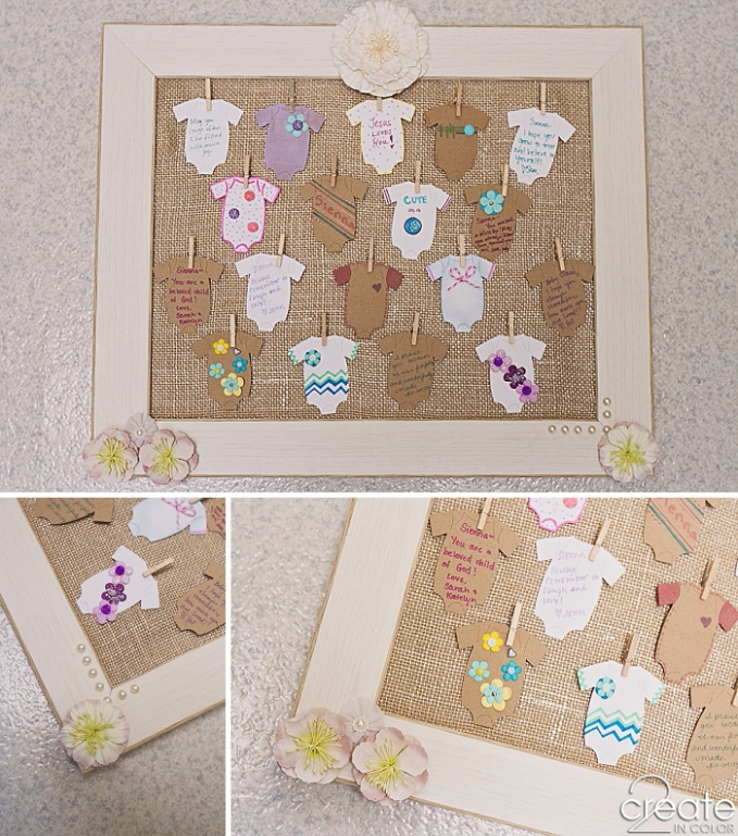 Baby Shower Wish Frame 2create In Color