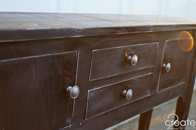 Sideboard, refinished