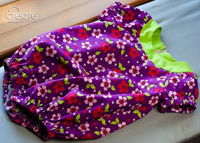 Purple-and-Lime-Romper-McCalls-6726_0012 Awaiting a try-on for the leg elastic -- almost odne!