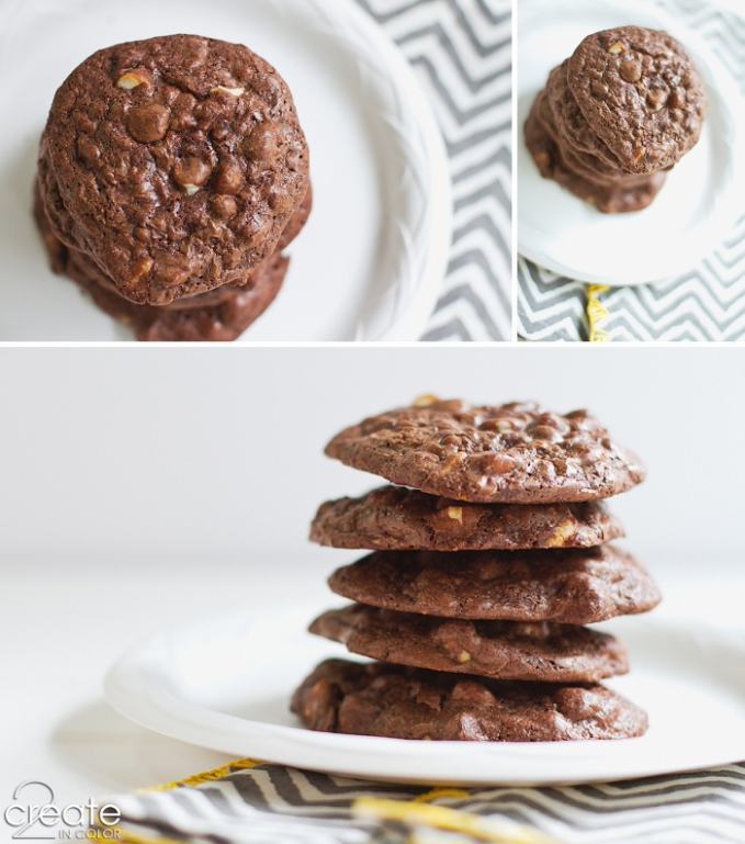 Chocolate Duet Cookie Recipe @ 2createincolor.com